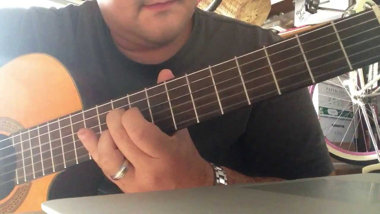 how to play stay the night on guitar