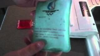 Homemade DIY MRE ration pack