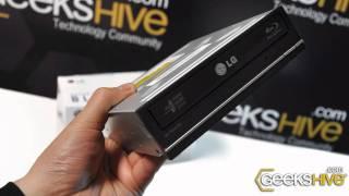 Grabadora de Discos Blu-Ray interna LG BH10LS30 - review by www.geekshive.com (Español)