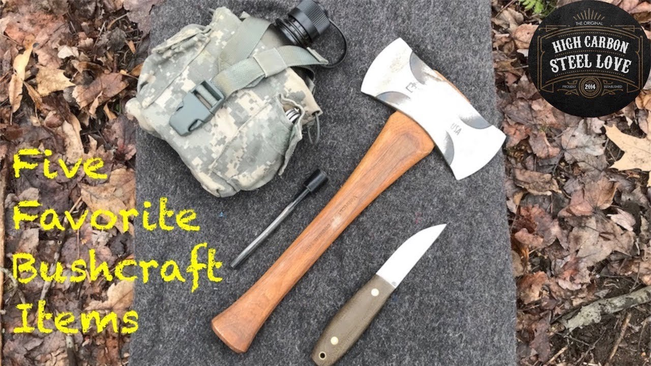 With So Many Choices What Are My 5 Favorite Bushcraft Items