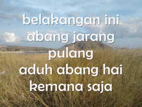 Sadiah Said - Sawah Sepetak (Lirik)