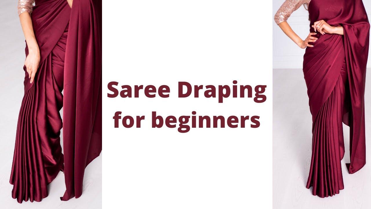 Download Nivi Drape   How to wear Saree for Beginners   Easy Saree Draping Tutorial   Tia Bhuva