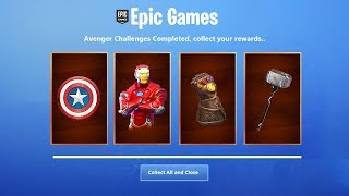 "*NEW* How to Get ""AVENGERS ENDGAME SKINS"" in Fortnite! AVENGERS ENDGAME EVENT (Fortnite x Avengers)"