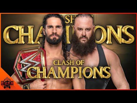 WWE 2K19 SETH ROLLINS VS BRAUN STROWMAN