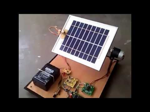 Solar Tracking System Project