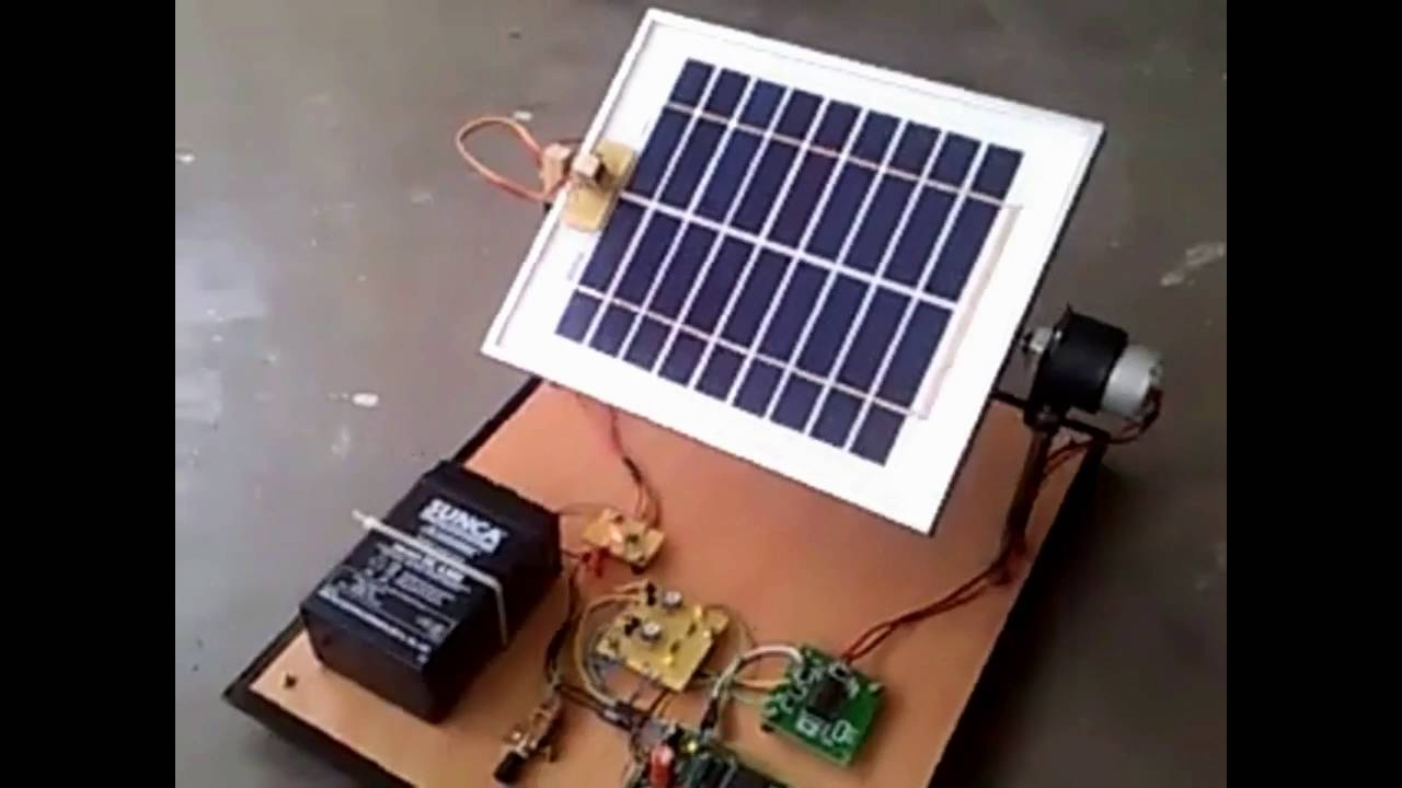 circuit diagram of solar power system 4 pin aviation connector wiring tracking project youtube