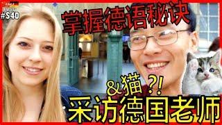 【德语学习】掌握学习德语秘诀! +猫?! 德国人采访 2, RRRanTV