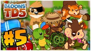 CAN ALL AGENTS WIN?! | Bloons Tower Defense | BTD 5 Gameplay Part 5