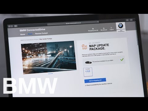 How To Find And Download A Map Update For Your Navigation On Your Computer – BMW How-To