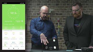 App-Powered Bluetooth Body Fat Smart Scale