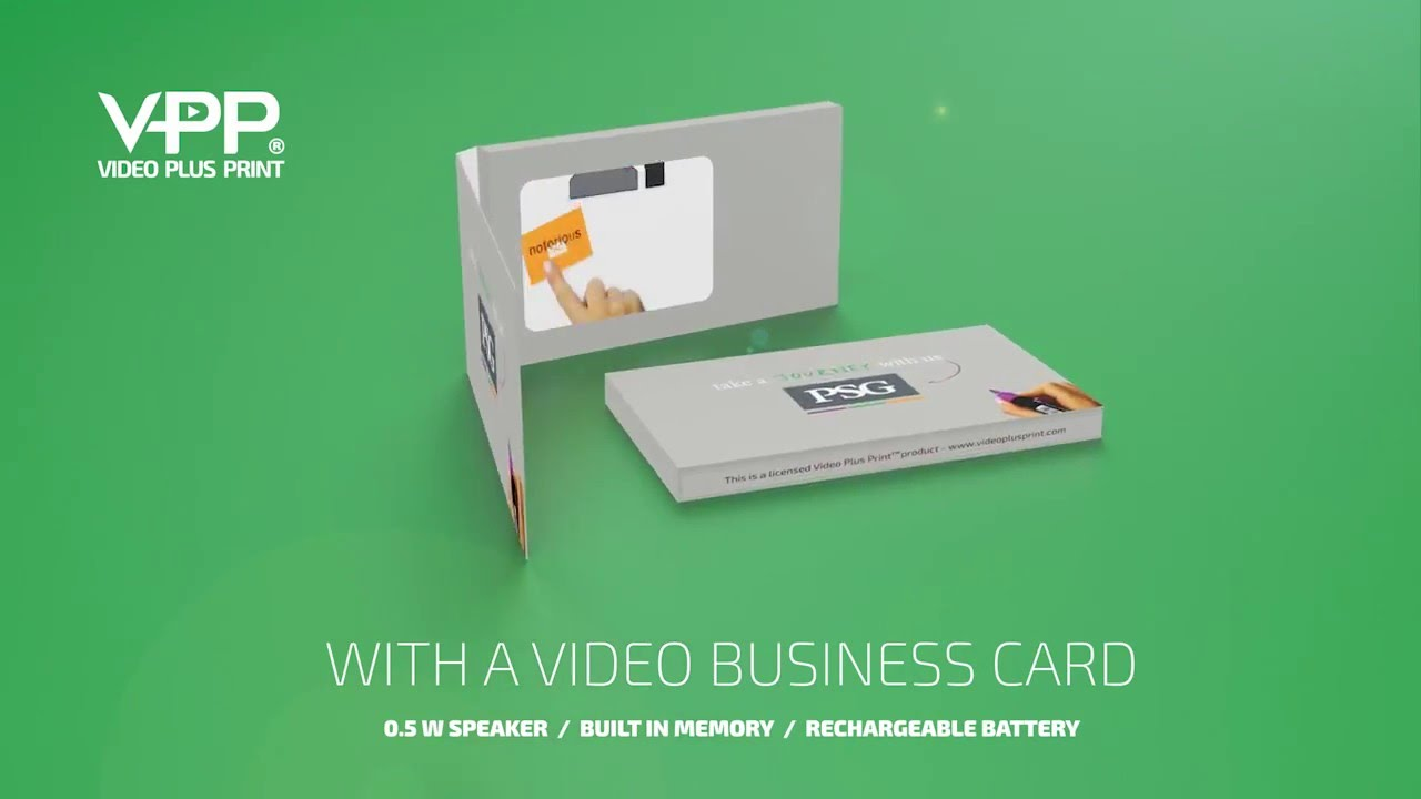 Video Business Cards - YouTube