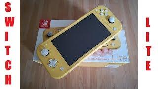 Nintendo Switch Lite Yellow Unboxing