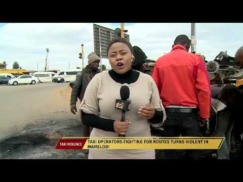 Cars torched as Mamelodi taxi operators fight over routes