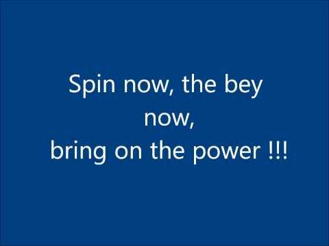 Beylade Metal Masters - lyrics