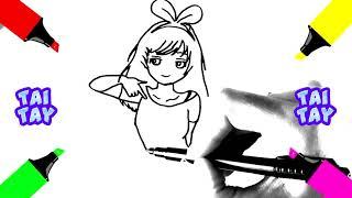 Угадайте На что Указывает Аниме Девушка Рисунки Для Срисовки FaniBiz
