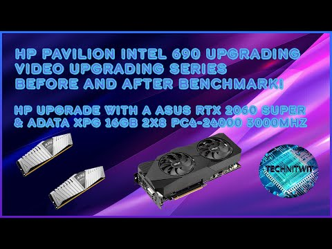 Hp Pavilion Gaming Desktop 690 Upgrade To A RTX 2060 Super 8GB GPU & 16GB Of Ram (How to Install)