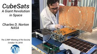PSW 2398 CubeSats:  A Giant Revolution in Space | Charles Norton