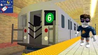 Johny Rides MTA Subway Trains On Roblox
