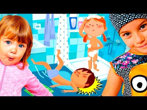 ПРАВИЛА БЕЗОПАСНОСТИ для детей и ПЕРВАЯ ПОМОЩЬ детям Развивающее видео для детей first aid