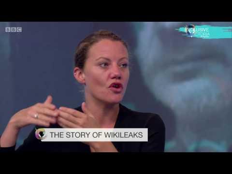 Wikileaks Editor Sarah Harrison BBC Interview 2016