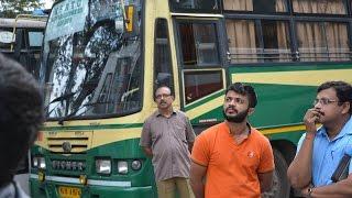 KSRTC Kerala Buses in Mysore Road Satellite Bus Station Bangalore