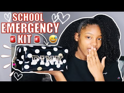 Back to School Emergency Kit 2019 | Jada Lit