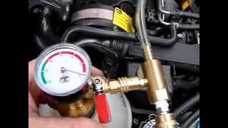 Airlift coolant fill 2004 Jetta