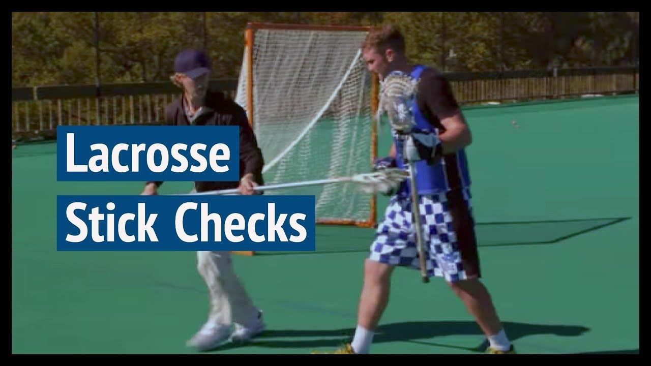 Lacrosse stick checks youtube lacrosse stick checks sciox Image collections