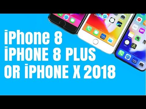 iPhone 8 vs iPhone 8 Plus vs iPhone X (2018)