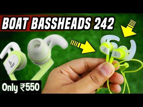 BoAt की सबसे बढ़िया Earphones ₹550 में | Boat bassheads 242 earphones unboxing & Review #TechConcern