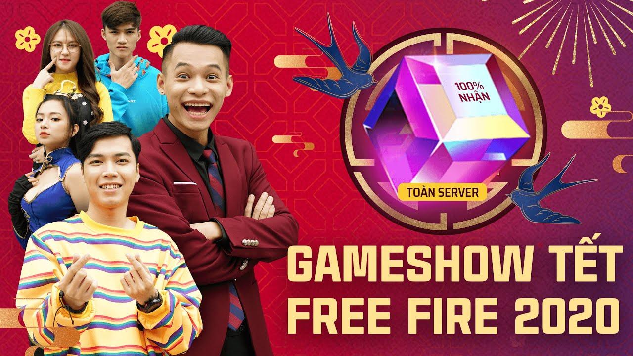 ĐỘ MIXI, AS MOBILE, CÔ NGÂN, GAO BẠC - GAME SHOW TẾT FREE FIRE 2020: HỐT QUÀ TÍM NGƯỜI