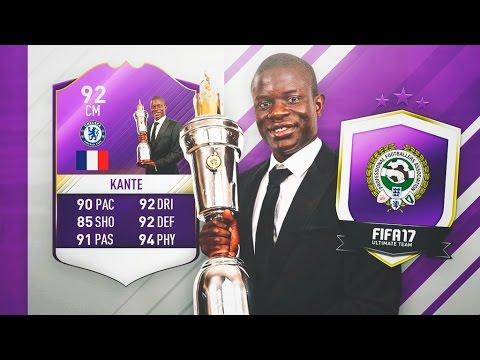 KANTE JUGADOR DEL AÑO PREMIER LEAGUE SBC!!!! | FIFA 17
