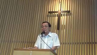 【礼拝説教アーカイブ】 「志を立てる」 ピリピ人への手紙、第2章13~16節  2019年9月1日高知クリスチャンセンター