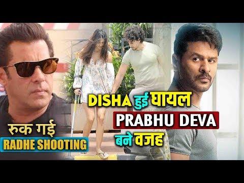 Radhe की Heroine Disha Patani हो गई घायल ! Prabhu Deva बने इसकी वजह | Salman Khan ने रोकी Shooting Mp3