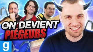 ON DEVIENT PIÉGEURS ! 😈 (Deathrun ft. Bob Lennon, Fred & Seb du Grenier)