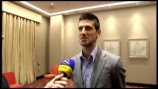 Novak Djokovic - Gangnam style in Bratislava