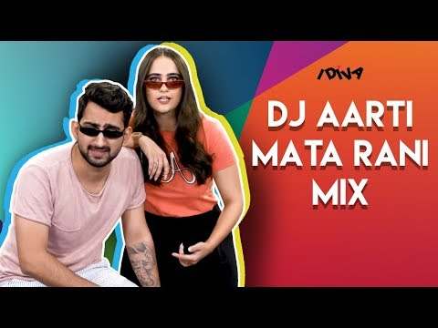 iDIVA - West Delhi Girl DJ Aarti's Mata Rani Mix | DJ Aarti Drops Her New Mix With Tommy