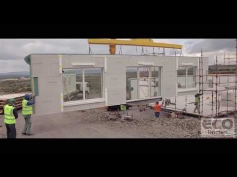 ecohomes.ie - off-site construction passivhaus montage