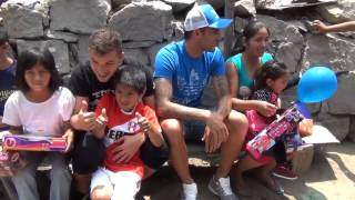 Costa y Míguez adelantaron la Navidad en Huaycán