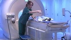 Ohjausvideo pään magneettikuvaukseen menevälle lapsipotilaalle