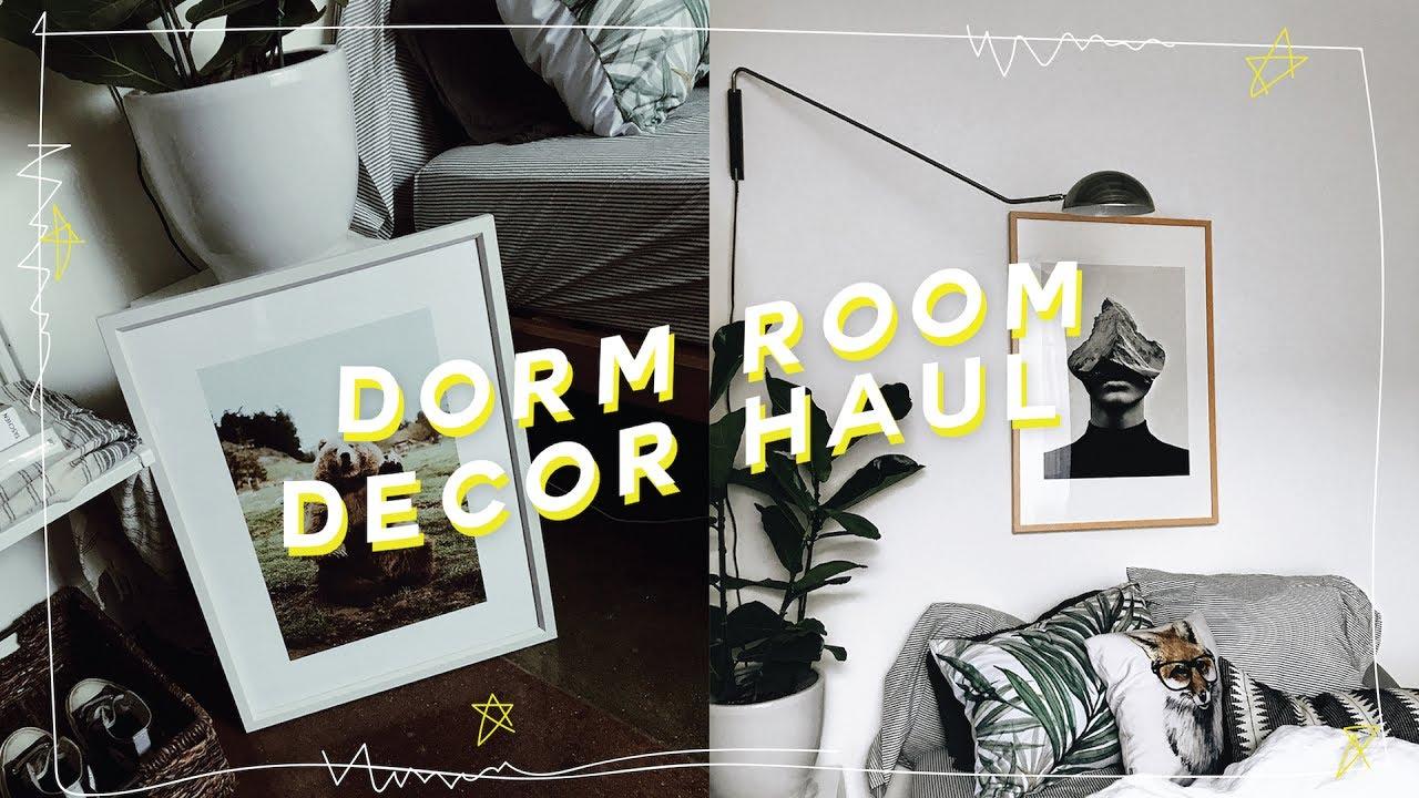 home decor haul perfect dorm back to school decor