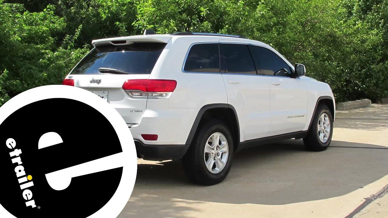 Trailer Wiring Harness Installation 2014 Jeep Grand Cherokee