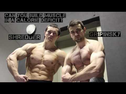 """Мышцы растут из белка, а не из калорий! Шреддер и его """"сеченый ученик"""" Грипинский."""