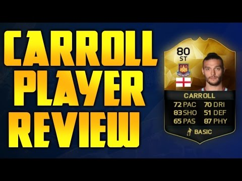 FIFA 16 INFORM ANDY CARROLL PLAYER REVIEW !!