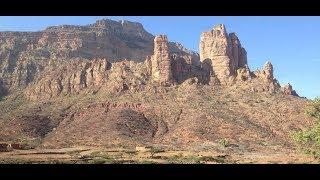 Etiopia- dowód na istnienie istot gadzich ,reptilian ,kościół w górach Tigray