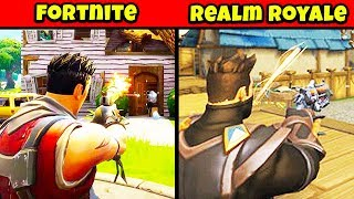 10 choses à propos de REALM ROYALE You Didn't Know (Fortnite Killer?) chaos