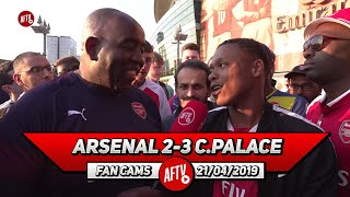 Arsenal 2-3 Crystal Palace | Elneny Was Anonymous Today!! (Deluded Gooner)