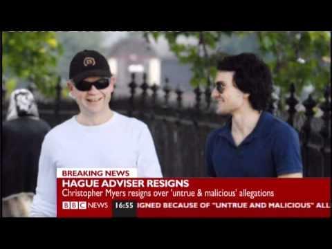 Hague advisor resigns BBC