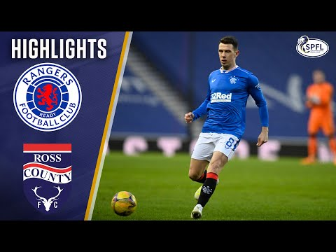 Rangers Ross County Goals And Highlights
