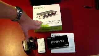 Kinivo 501BN Premium 5 Port High Speed HDMI Switch